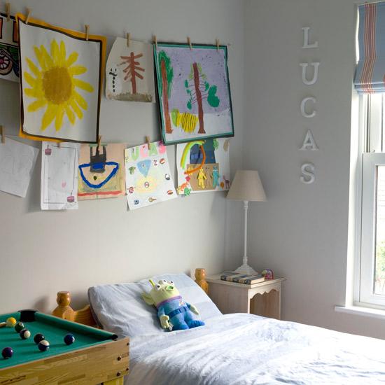 Идеи дизайна детской: рисунки на стене