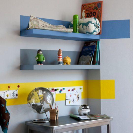 Идеи дизайна детской: яркие акценты