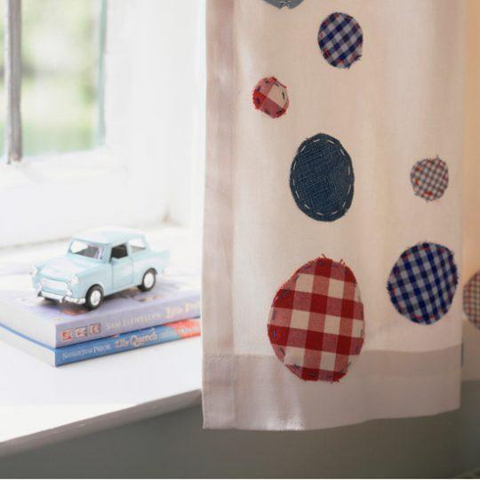 Идеи дизайна детской: креативные шторы