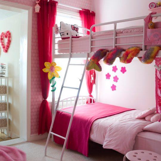 Идеи дизайна детской: хранение под кроватью