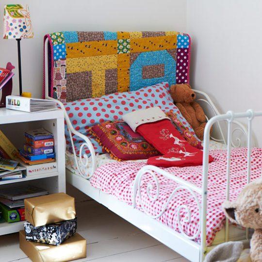 Идеи дизайна детской: лоскутное одеяло