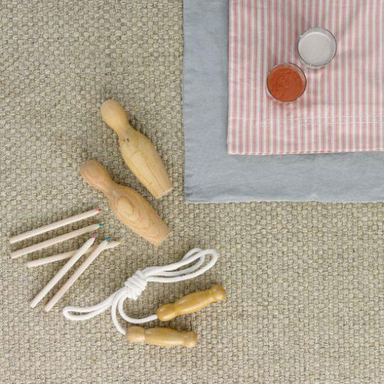 Дизайн детской: сизалевое покрытие