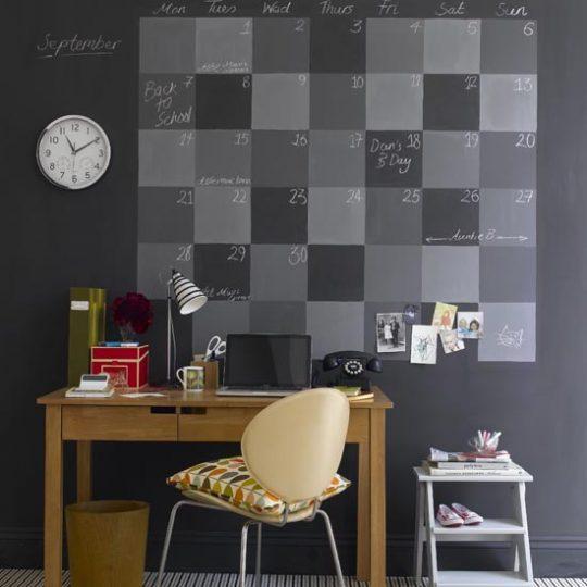 Дизайн комнаты для мальчика: меловая стена