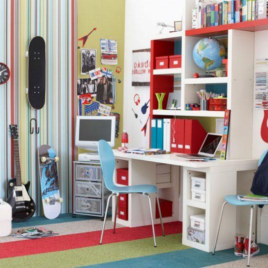 Современный дизайн комнаты для мальчика - фото 18