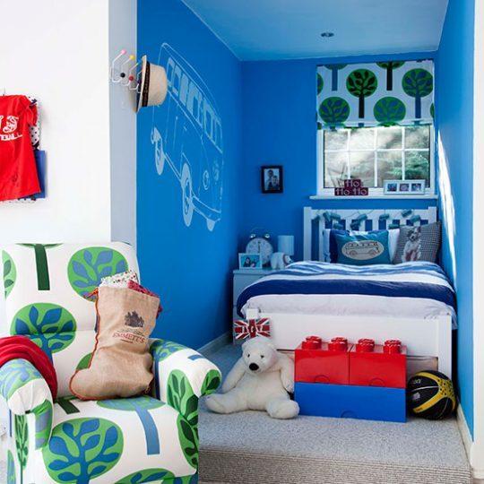 Современный дизайн комнаты для мальчика - фото 28
