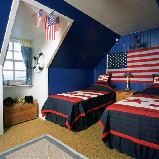 Современный дизайн комнаты для мальчика - фото 31