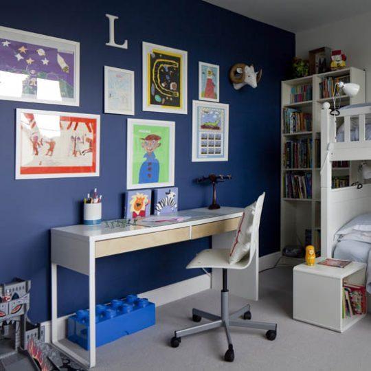 Современный дизайн комнаты для мальчика - фото 43