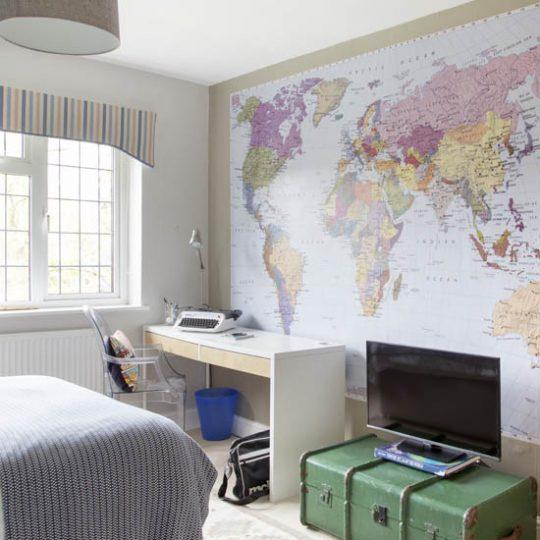 Современный дизайн комнаты для мальчика - фото 44