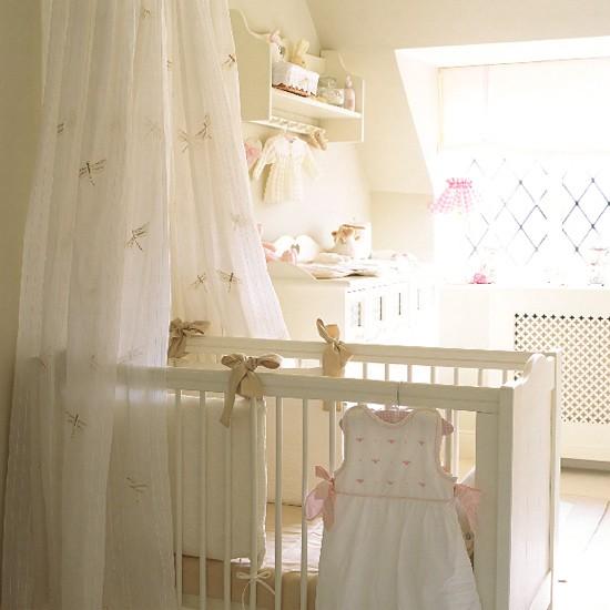 Дизайн комнаты малыша в светлых тонах