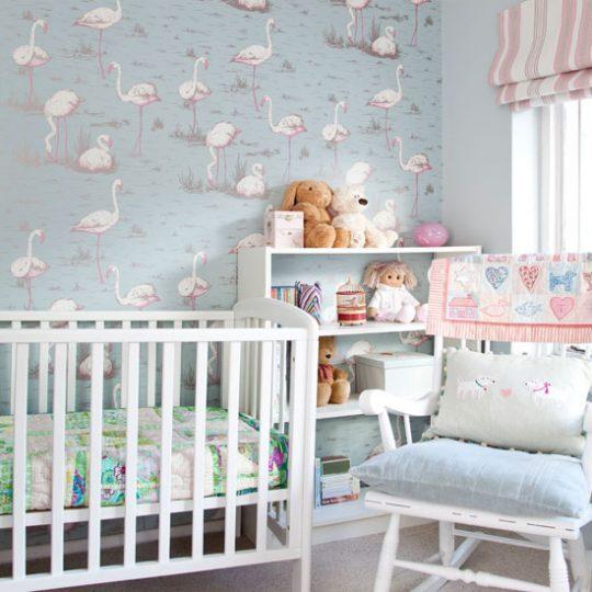 Дизайн комнаты малыша в розово-голубых тонах