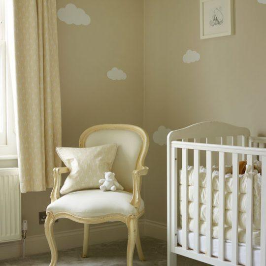 Дизайн комнаты малыша: цвет интерьера - крем-брюле