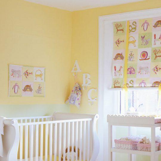 Дизайн комнаты малыша: солнечный цвет интерьера