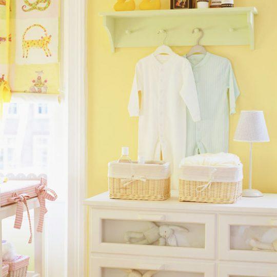 Идея декора детской: интерьер в жёлтых тонах