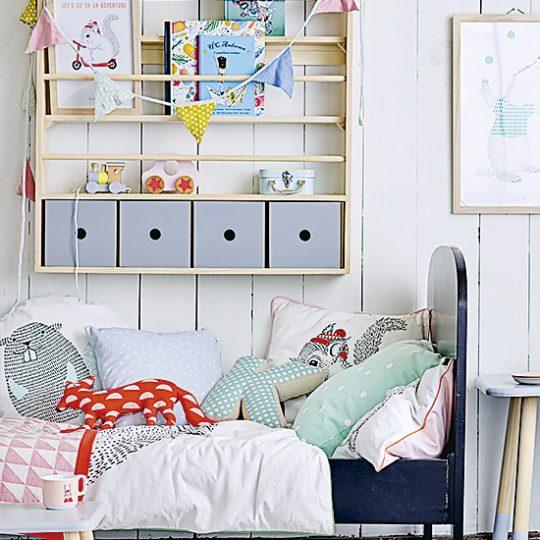 Идеи дизайна детской: деревянные игрушки