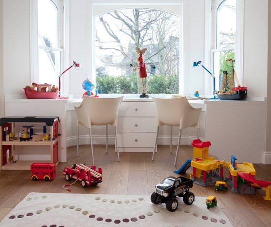 Идеи дизайна детской в светлых тонах