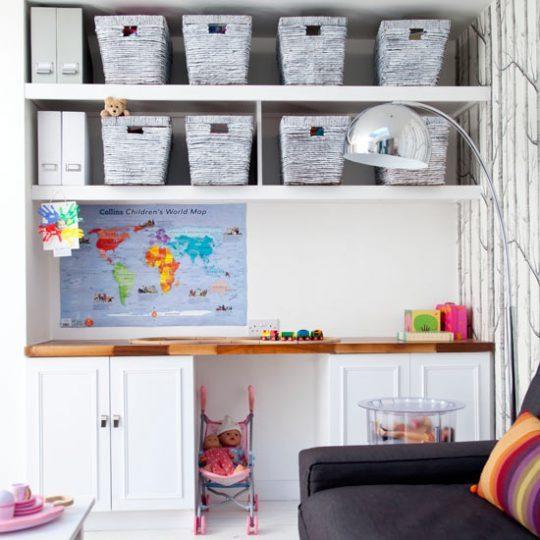 Идея дизайна детской: практичность и комфорт