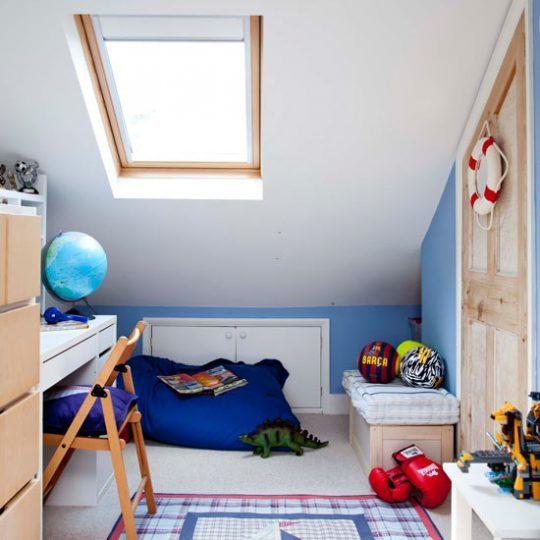 Идея дизайна детской в морском стиле