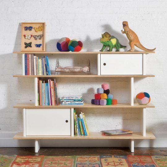 Стильная мебель для детской: стеллаж