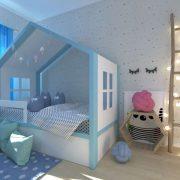 Детская кровать домик Мага фото