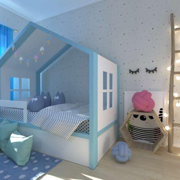 Детская кровать домик Мага