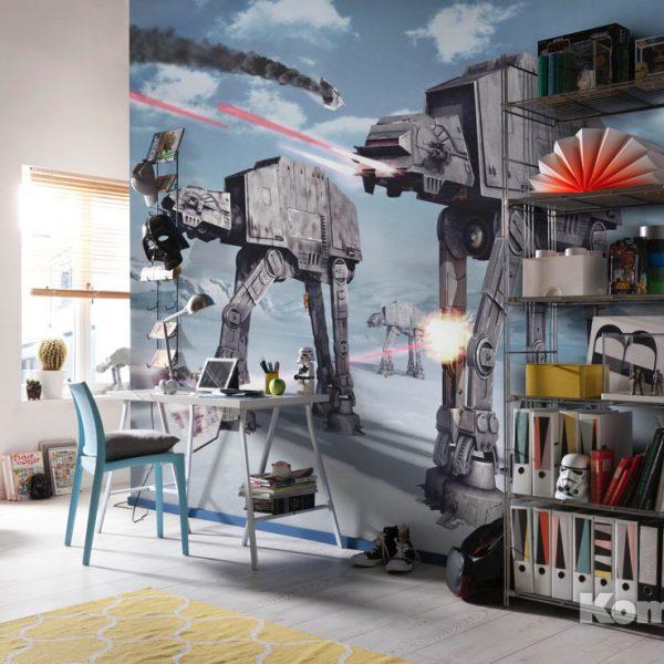 Детские фотообои Star Wars Battle of Hoth 1