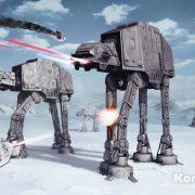 Детские фотообои Star Wars Battle of Hoth 2