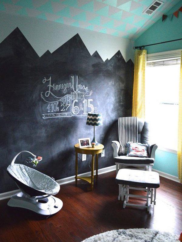 Неудачные цветовые акценты в детской комнате