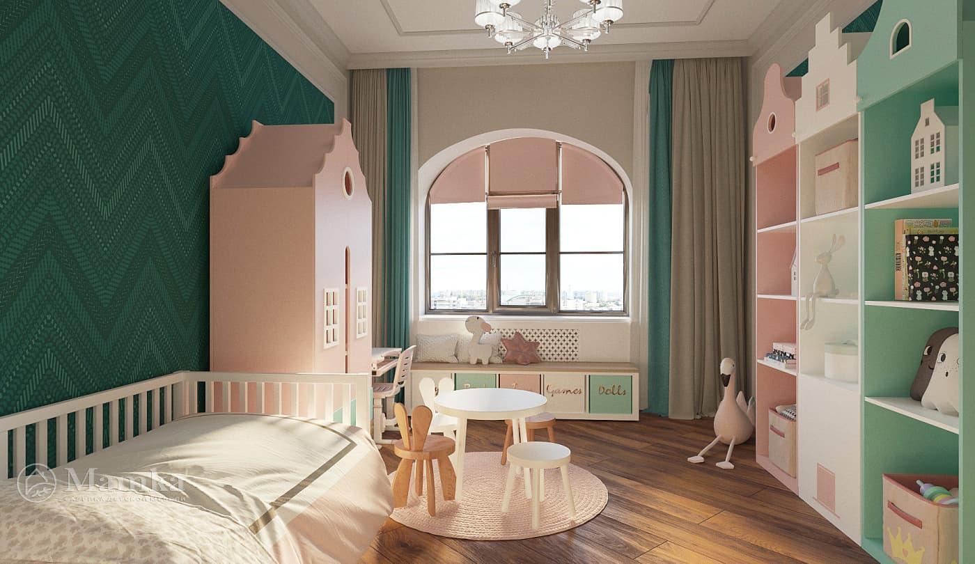 Детская дизайнерская мебель в Москве фото 2