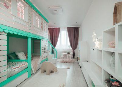 Комната для веселой семьи блогеров Елены Сажиной