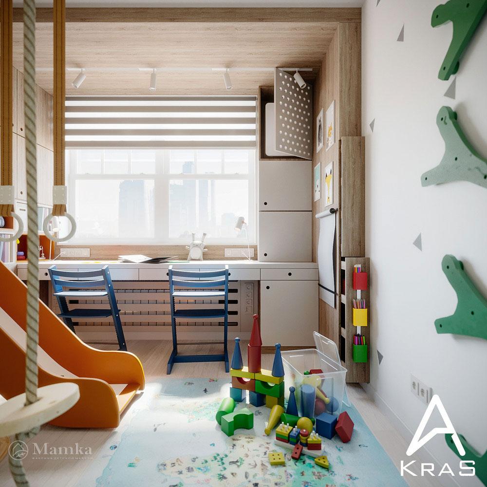 Детская игровая для активных детей 2