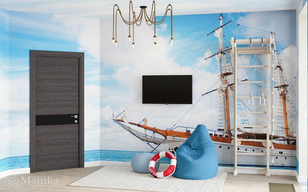 Детская игровая в морском стиле для активных детей 4