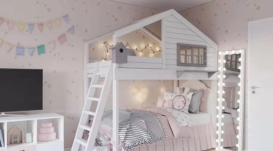 Детская комната для близнецов - советы по организации пространства 6