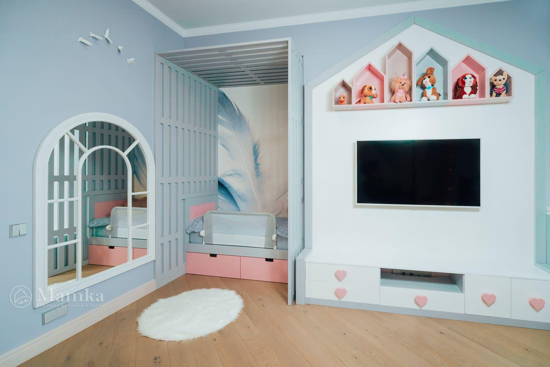 Детская комната для девочки фото 13