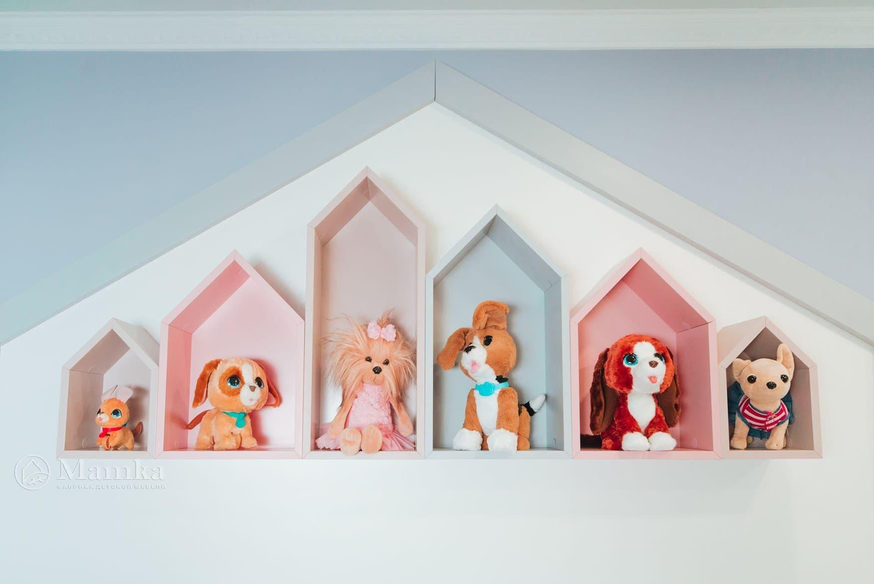 Детская комната для девочки фото 15