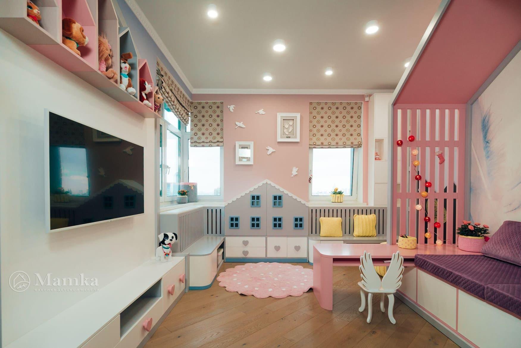Детская комната для девочки фото 3