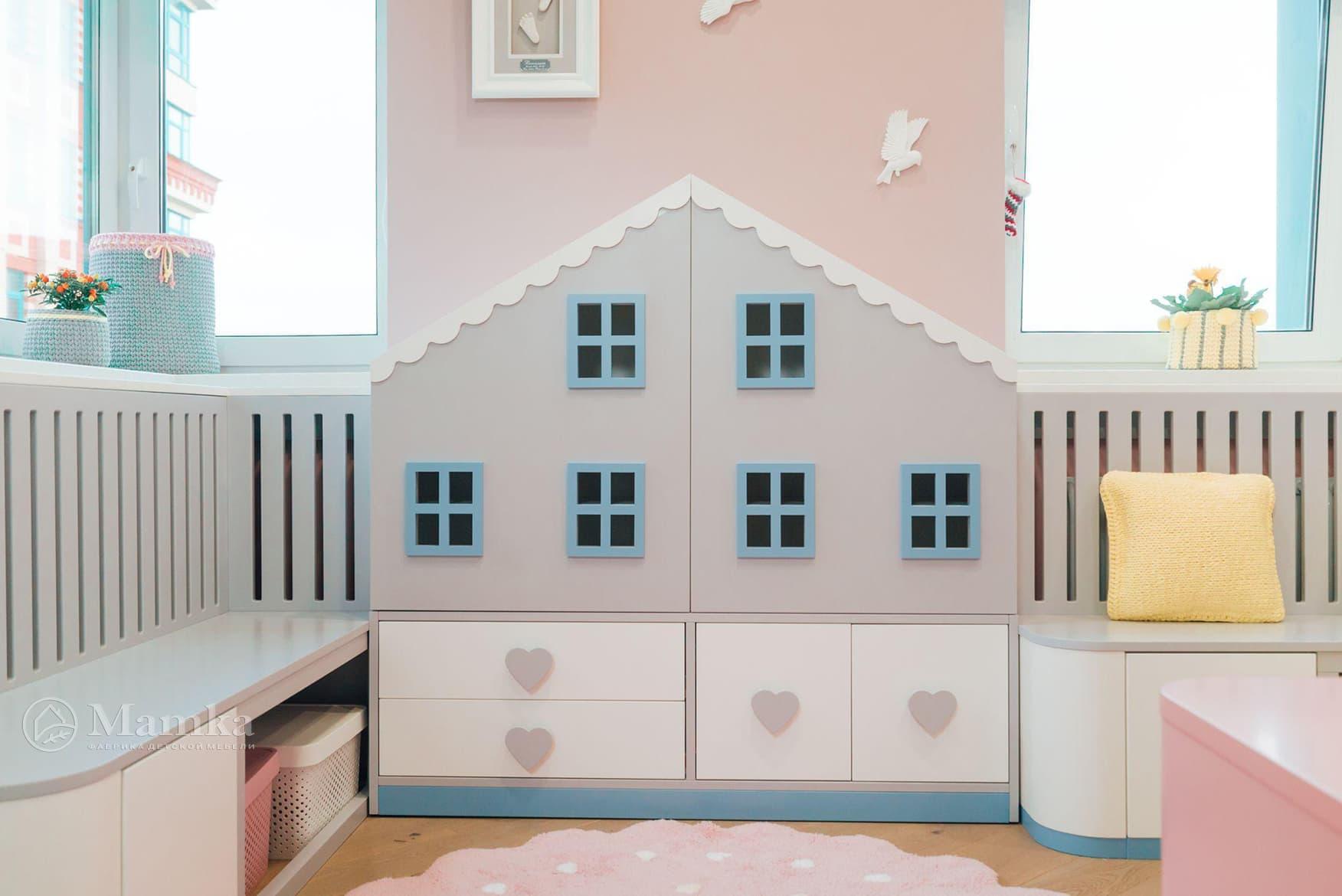 Детская комната для девочки фото 5