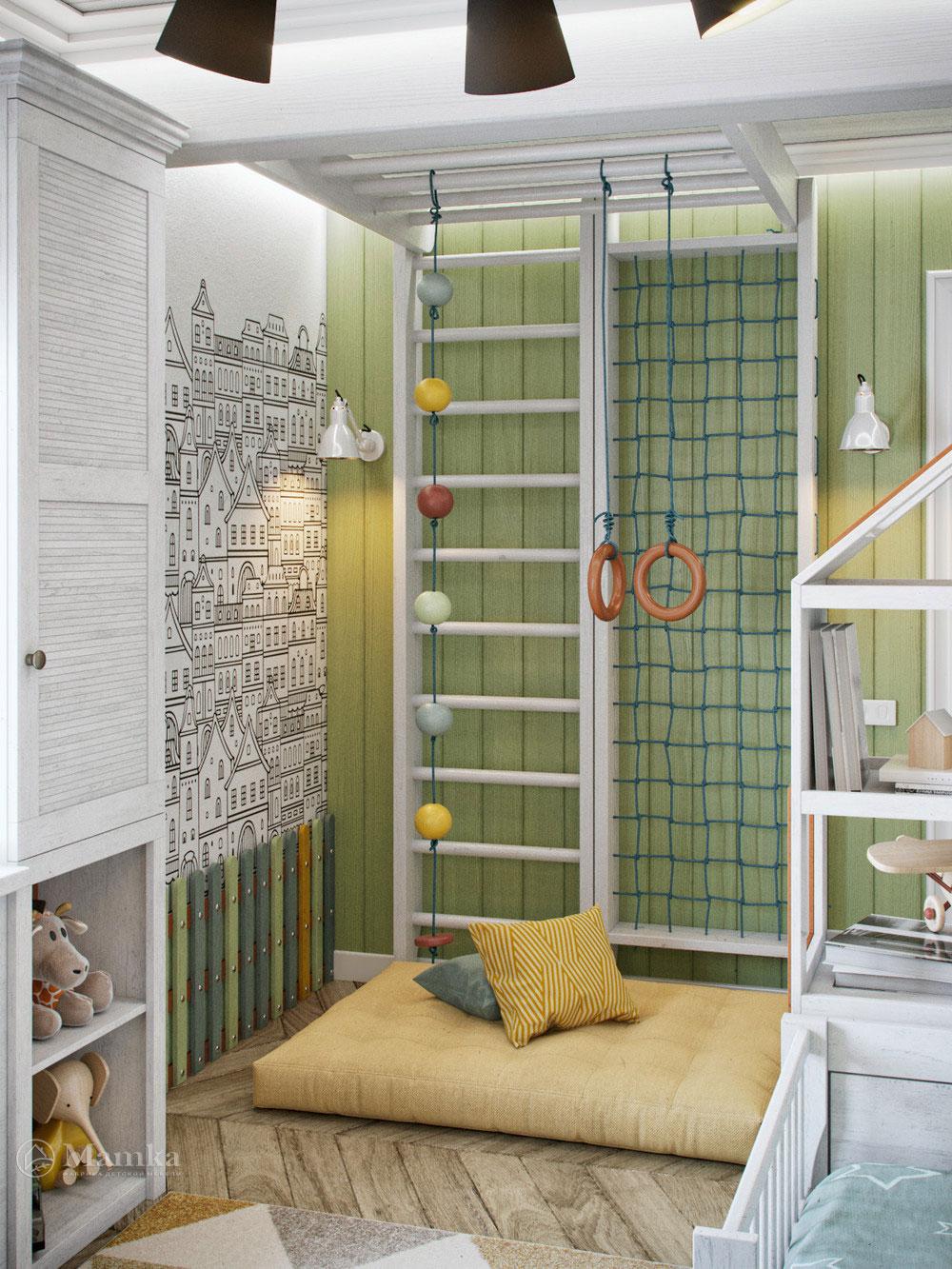 Детская комната для мальчика с волшебным оформлением 4