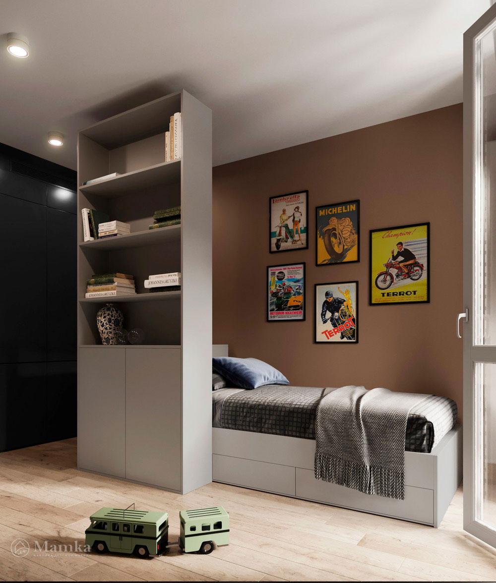 Детская комната для мальчика в стильном современном дизайне 1