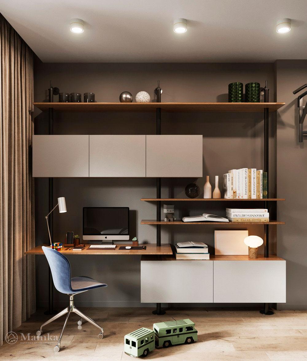 Детская комната для мальчика в стильном современном дизайне 3