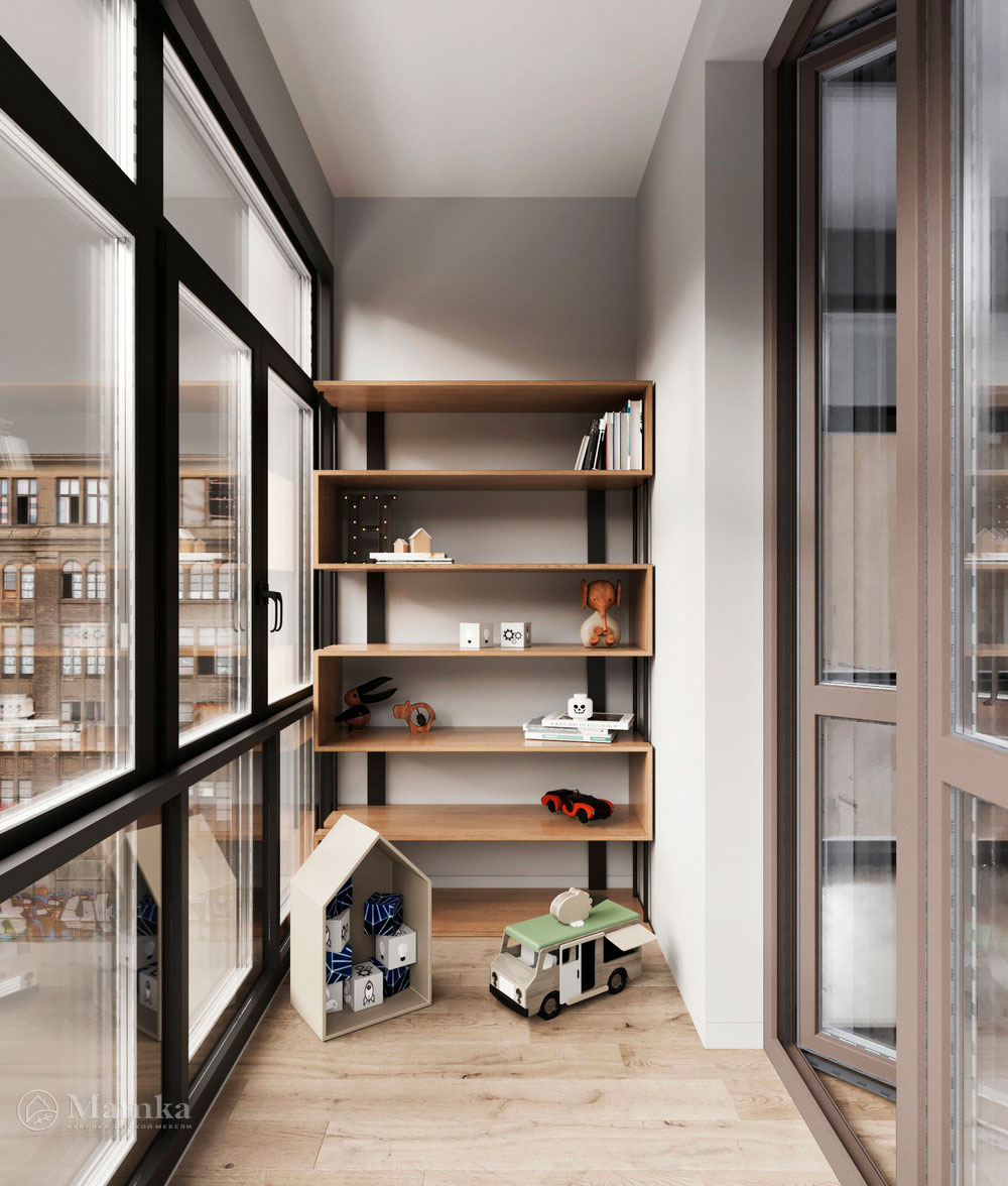 Детская комната для мальчика в стильном современном дизайне 5