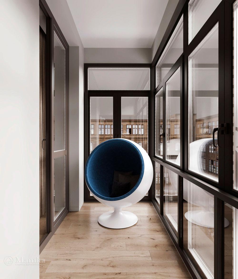 Детская комната для мальчика в стильном современном дизайне 6