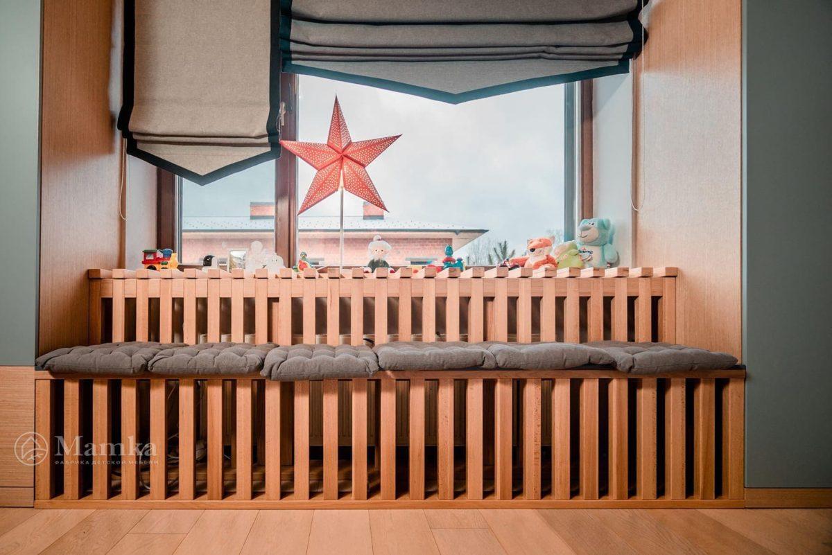 Детская комната в загородном доме на мансардном этаже фото 10