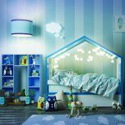 Детская кровать домик Дом мага — фото