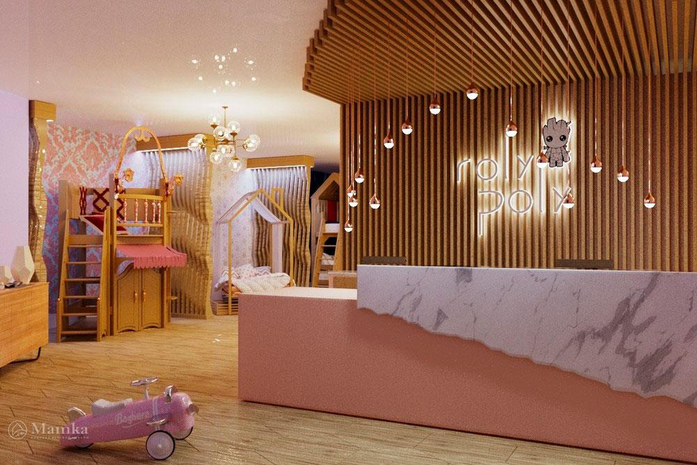 Детская мебель в дизайн-проекте сказочного магазина мечты 1