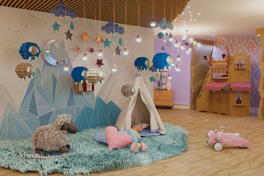 Детская мебель в дизайн-проекте сказочного магазина мечты 2