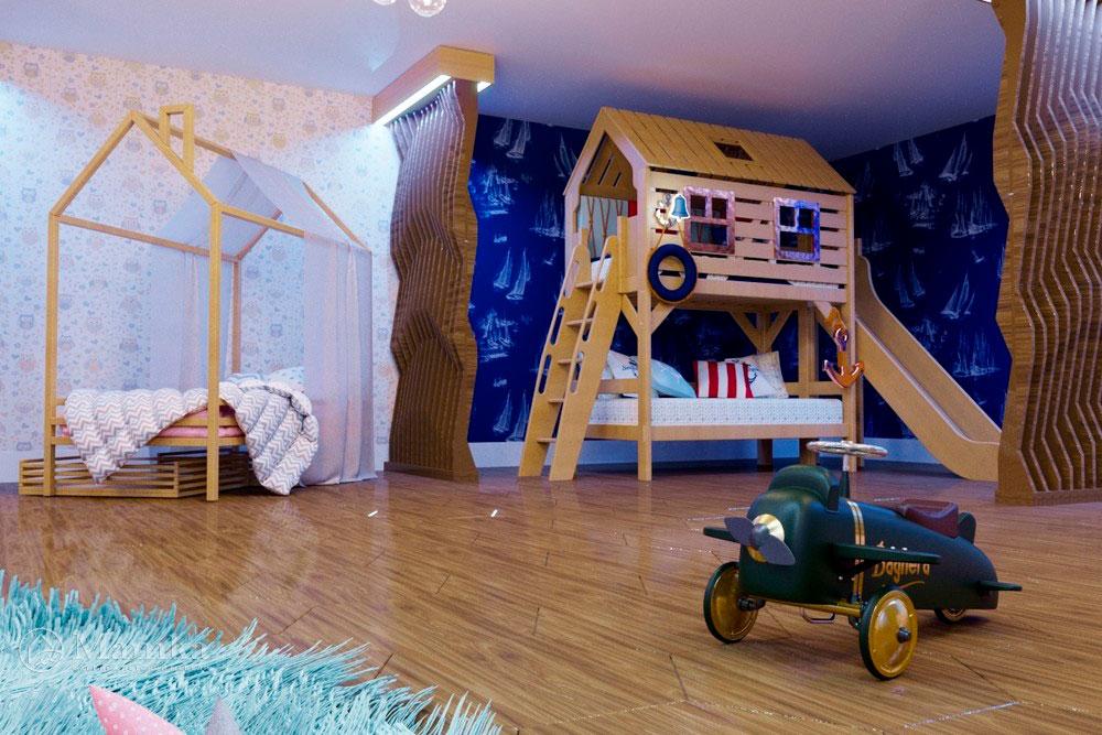 Детская мебель в дизайн-проекте сказочного магазина мечты 4