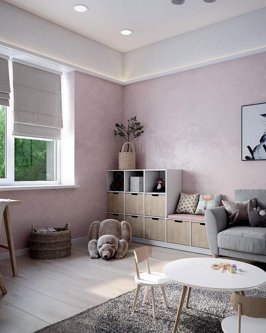 Детская мебель для комнаты девочки проект 3263-3