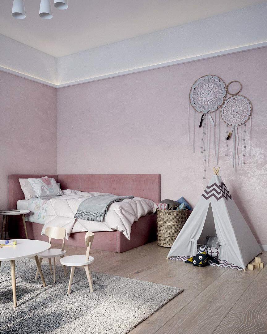 Детская мебель для комнаты девочки проект 3263-6