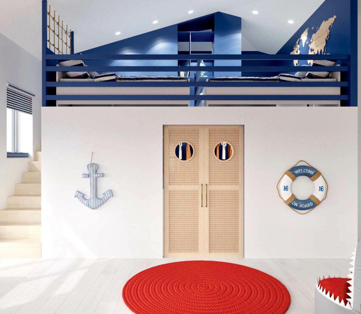 Детская мебель для комнаты мальчика проект 3351-2