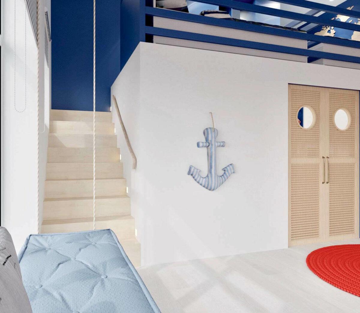 Детская мебель для комнаты мальчика проект 3351-5